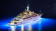 The largest private yacht in the world: Eclipse
