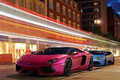 Pink and Blue Lamborghini HD Widescreen Wallpapers Car Lamborghini Aventador Lp700 4, Ferrari, Blue Lamborghini, Lamborghini Photos, Lamborghini Concept, Porsche, Audi, Super Sport Cars, Super Cars