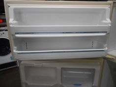 Appliance City - FRIGIDAIRE 18 CUBIC FOOT REFRIGERATOR ICE MAKER READY TOP FREEZER  REVERSIBLE DOORS ADJUSTABLE GLASS SHELVES 2 CRISPER DRAWERS WITH GLASS TOP CLEAR DAIRY DOOR BISQUE , $325.00 (http://www.appliancecity.info/frigidaire-18-cubic-foot-refrigerator-ice-maker-ready-top-freezer-reversible-doors-adjustable-glass-shelves-2-crisper-drawers-with-glass-top-clear-dairy-door-bisque/)