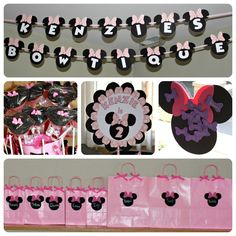 "Minnie Mouse ""BOWTIQUE"" shopping birthday party.  So cute!"