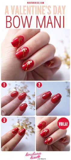 Uñas para enamorados, perfectas para San Valentín - http://xn--decorandouas-jhb.com/unas-para-enamorados-perfectas-para-san-valentin/