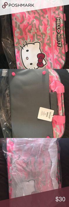 Hello Kitty Duffle Camo Bag Brand New. Hello Kitty (Sanrio Original) with tags. Hello Kitty Bags Backpacks