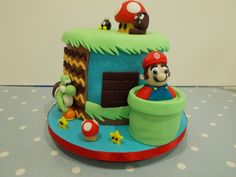 Mario and friends! by Scrumptious Cakes Minehead