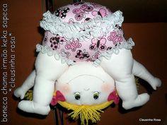 pap como montar a boneca keka sapeca by Cleusinha rosa, via Flickr