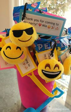 An Emoji pool party seems to be the perfect upbeat and happy summer theme. I want to share these emoji party favors and free printable. Emoji Birthday Party Ideas Girls, Birthday Parties, Happy Summer, Party Time, Free Printables, Party Favors, Inspired, Diy, Tween