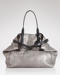 Cole Haan Tote - Metallic Leather Crosby