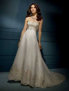 Alfred Angelo Sapphire Style 848 Size 12 Used Wedding Dress - Nearly Newlywed
