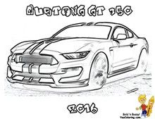 Ford Cool Mustang Coloring Pages My Super Hubby Pinterest