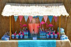 flamingo party theme | Flamingo Pool Party
