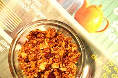 Grain-Free Flax Cranberry Granola TheHealthyApple.com #glutenfree #recipe #healthy