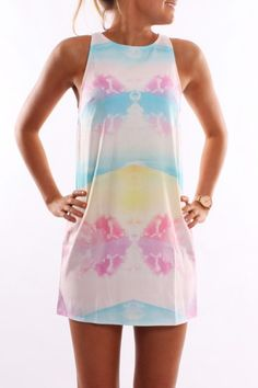 Cloud Nine Dress- good for a festival with boots and a denim vest?