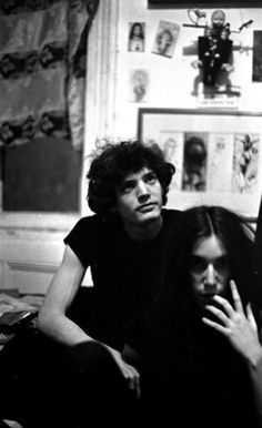 Robert Mapplethorpe and Patti Smith, 1969