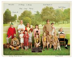 "1 | See Wes Anderson and Roman Coppola's Illustrated ""Moonrise Kingdom"" Script 