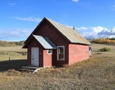 The Cow Creek School is located farther north on Routt County Road 43 and a half mile west of its intersection with County Roads 41 and 45.
