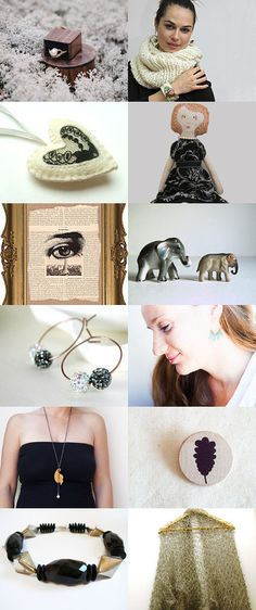 Black on the snow! by Ale on Etsy--Pinned with TreasuryPin.com