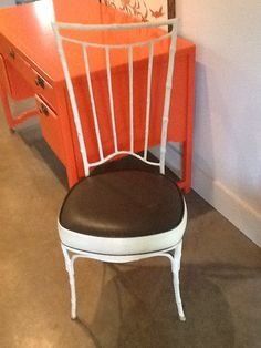 Faux Bamboo Chair Iron by LIVvintage on Etsy, $95.00