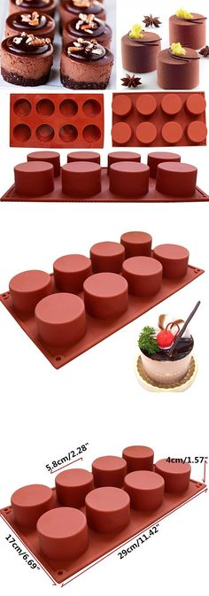 DIY Silicone Cupcake Mold Muffin Chocolate Cake Candy Cookie Baking Mould Pan Tools is personalized, see other cheap bakeware on NewChic. Chocolate Muffins, Chocolate Molds, Chocolate Cakes, Chocolate Recipes, Cake Candy, Candy Cookies, Silicone Cupcake Molds, Silicone Baking Molds, Cupcake Muffin