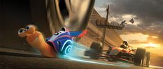 Turbo - New UK Trailer for the Supercharged Snail Movie