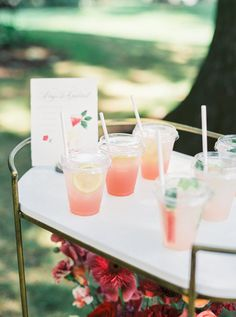Bridal Shower Drinks, Bridal Shower Decorations, Backyard Bridal Showers, Bridal Shower Activities, Marriage Material, Martha Stewart Weddings, Colorful Party, Event Decor, Event Design