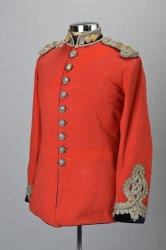 Royal Engineers Officer's C19 Victorian Full Dress Scarlet Uniform Tunic ZSQJ | Collectables, Militaria, Surplus/ Equipment | eBay!