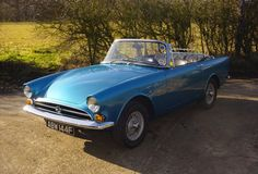 1960s Sunbeam Alpine Series 5 convertible sports car   Mine was this color - wouch- M e m o r i e s . . . . . . .