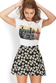 Wild Youth Cropped Tee | FOREVER21 #F21FreeSpirit #CropTop #GraphicTee