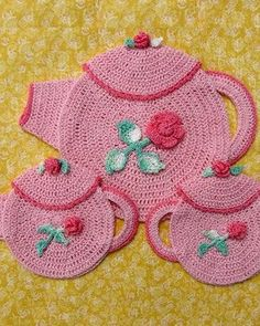 Picture of Grandmama's Favorite Decorative Potholders and Hot Pads Download