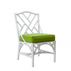 Chippendale Outdoor Dining Side Chair - Sunbrella | David Francis AW8085
