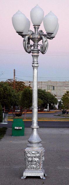 Captivating Mermaid Lamp Lights Up On Poseidon Post . Nice Look