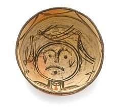 Bonhams Fine Art Auctioneers & Valuers: auctioneers of art, pictures, collectables and motor cars Native American Symbols, Native American Pottery, Pueblo Pottery, Pottery Designs, Native Art, First Nations, Ceramic Pottery, Nativity, Auction