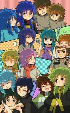 Little Saint Seiya Party