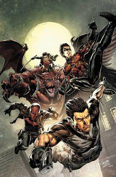 DC Comics Batman & Robin Eternal # 6 out of The Past Print Jan 2016 for sale online Batman Robin, Son Of Batman, Batman Family, Superman, Nightwing, Batwoman, Batgirl, Jason Todd, Comic Book Characters
