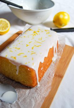 This classic, Easy Lemon Drizzle Cake is moist, light and absolutely delicious - try it and you willl be hooked!