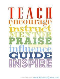 Role of a teacher....