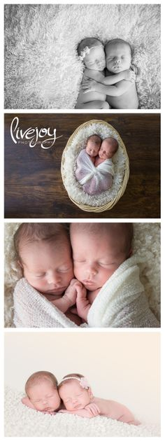 Twin Newborns / Brother and Sister Photography Session in Oregon #livejoyphotography #twins #newborns
