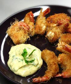 γαρίδες καταΐφι Greek Recipes, Fish And Seafood, Shrimp, Meals, Chicken, Foods, Food Food, Food Items, Meal