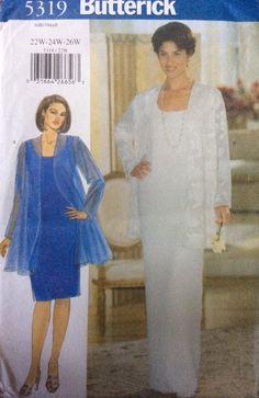 1997 Butterick 5319 UNCUT Women's Jacket & Dress by Lonestarblondie on Etsy