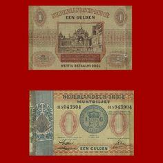 Nederlandsch Indië 1940 - 1 gulden.