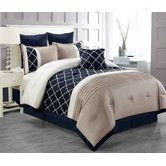 Found it at Wayfair - Central Park 7 Piece Comforter Set