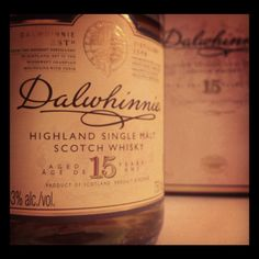 Dalwhinnie is smooth, sweet, and smokey  My Favorite Highland.