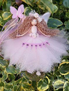 Handmade fairy doll by Lula Tuesdays. the original beautiful design by Lula Tuesdays Christmas Fairy, Christmas Crafts, Christmas Ornaments, Fairy Crafts, Doll Crafts, Flower Fairies, Angel Flowers, Ballerina Ornaments, My Fairy Garden