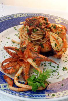 Pasta al Nero di Seppia - http://blog.giallozafferano.it/suditaliaincucina/pasta-nero-seppia/