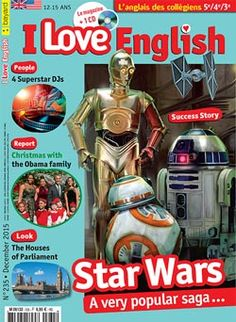 I Love English n°135- décembre 2015