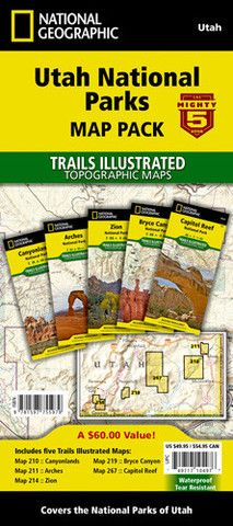 Can't grasp where to begin or how far it is between all the scenic places you want to see in Utah's Canyon Country and surrounding areas? This is the map for you. The National Parks Map & Guide featur