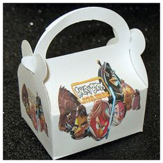 angry birds star wars party favor box angry birds by tinygiftboxes, $1.35