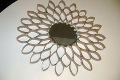 Mirror Frames DIY and Crafts Ideas - MB Desire