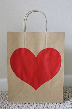 Tutorial: Heart Gift Bag