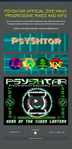 psyshtar official site many  progressive mixes and info