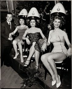 retro and fabulous! #vintage #hairdresser