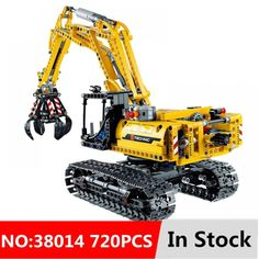 Precut Custom Replacement Stickers for Lego Set 8294 Excavator 2008